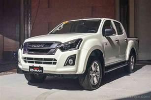 Isuzu Dmax Ph 2017 Isuzu D Max Makes Philippine Debut Auto Industry News