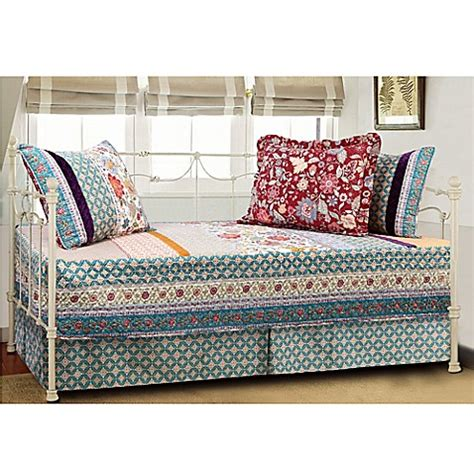 bed bath and beyond geneva geneva quilted reversible daybed bedding set bed bath