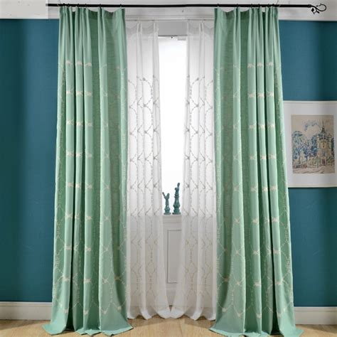 mint green curtains mint green bedroom curtains nrtradiant com