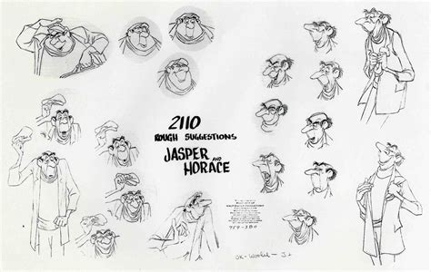 Disney Princess Castle Wall Stickers image jasper amp horace modelsheet jpg disneywiki