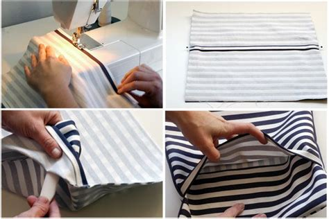 How To Make A Pillow Cover by How To Make A Pillow Envelope Back
