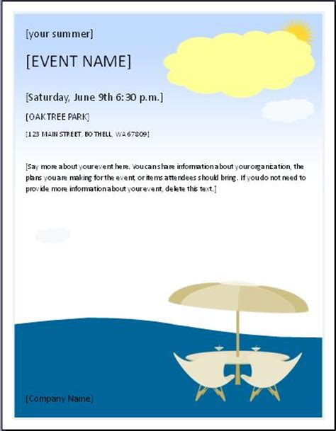 Invitation Letter Format For Picnic Here Is Preview Of This Picnic Invitation Template