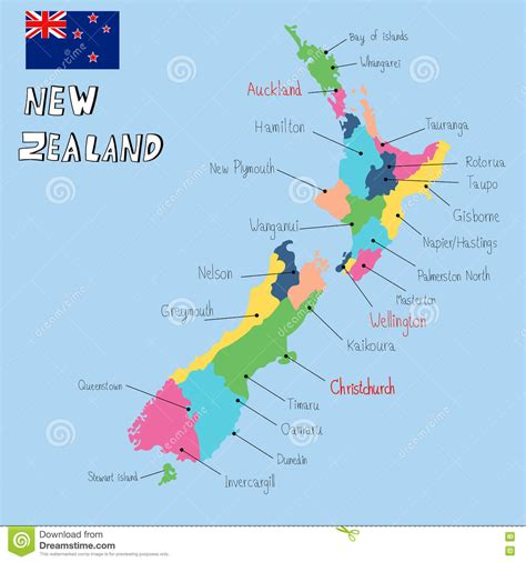 How To Draw New Zealand