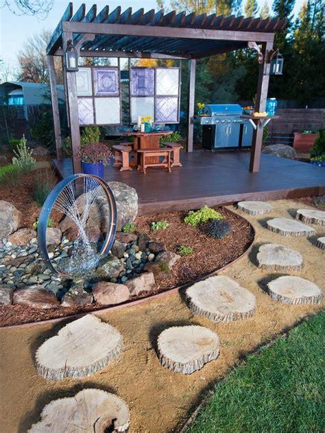 backyard improvement ideas yard crashers water feature wonderland wheels water
