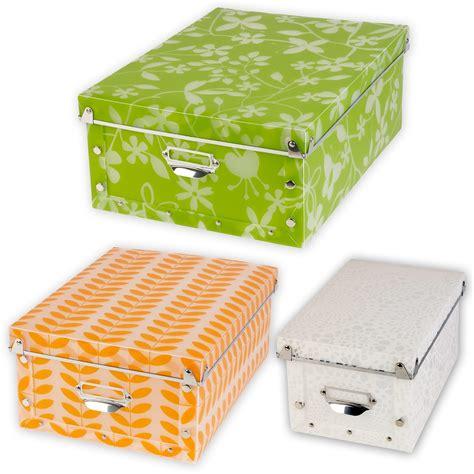 Storage Box 26 5x16x23 5cm Plastic spizy plastik klappbar gemustert aufbewahrungsboxen