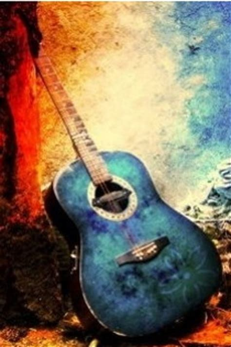 guitar abstract iphone wallpaper