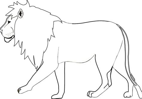 what color are lions printable coloring pages coloring me