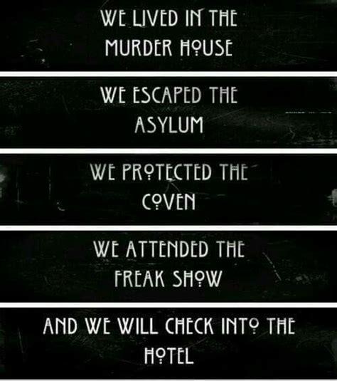american horror story themes per season season 5 pics ahs pinterest seasons