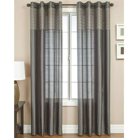 walmart sheer curtain panels walmart sheers curtains