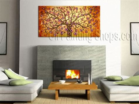 modern large wall colorful large wall decorating ideas contemporary tree