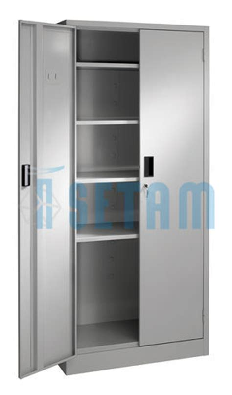 Armoire De Rangement M Tallique by Armoire Metallique Presta Armoire Porte Battante 5 Niveaux