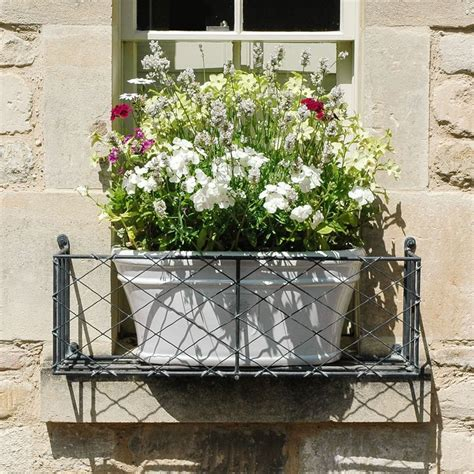 Wire Window Planters by Get Ready For With Window Boxes