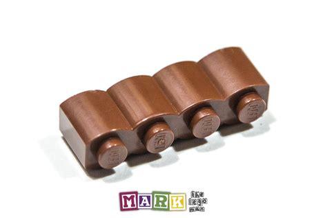 Lego Parts Lego Part 30136 4519970 Brown Palisade Brick 1x2 lego 30136 1 215 4 palisade brick 4211181 mad about bricks