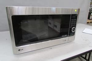 Microwave Lg Iwave lg iwave sensor microwave oven 38 ltr capacity stainless steel 1100 watt auction 0192 5008087