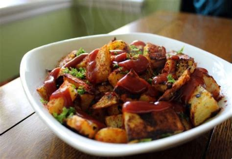 ketchup baked home fries