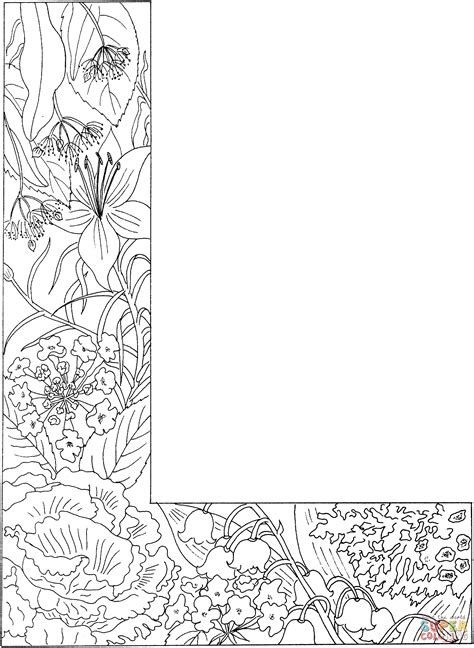 Alphabet L Coloring Pages by Coloring Pages Letters Coloring Home