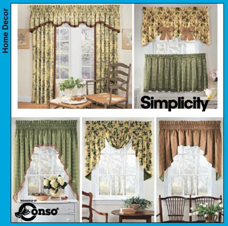 sewing patterns for curtains and valances free printable valance sewing patterns simplicity window