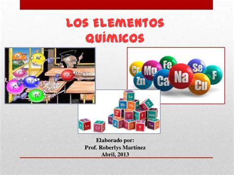 imagenes figurativas elementos presentaci 243 n de elementos quimicos