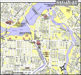 map of ottawa ontario canada ottawa ontario tourist map ottawa mappery
