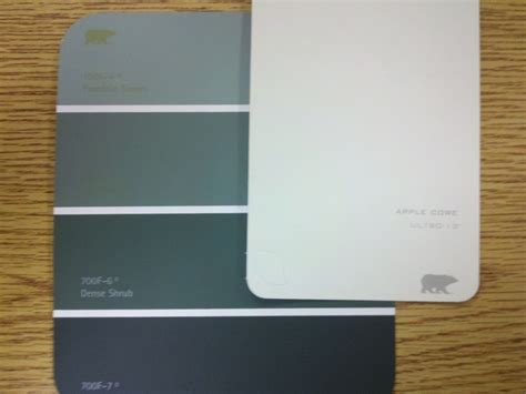 paint colors downstairs behr accent wall apple other walls dense shrub