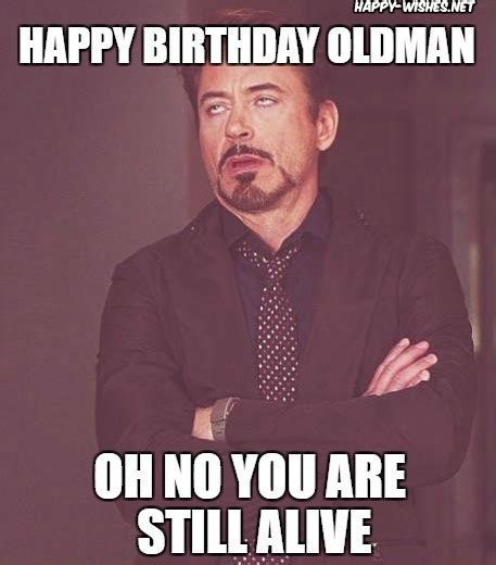 Old Man Birthday Meme - happy birthday old man funny memes wishes happy wishes