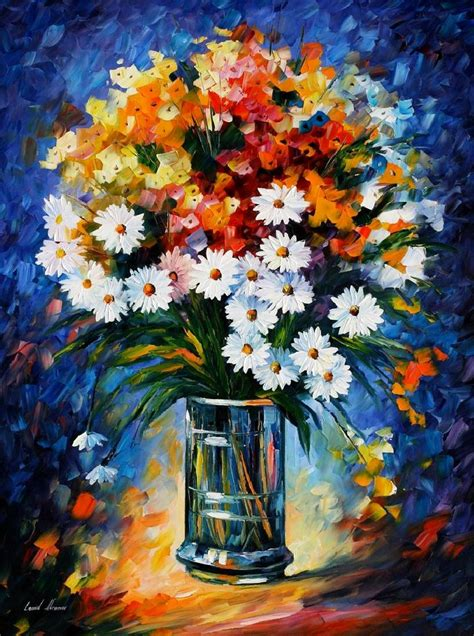 painting work leonid afremov one of the most colorful painters ever