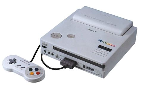 nintendo prima console the nintendo playstation you never got to play