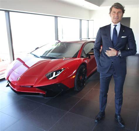 Lamborghini Ceo Lamborghini Ceo Talks Suvs And The Demise Of The Stick