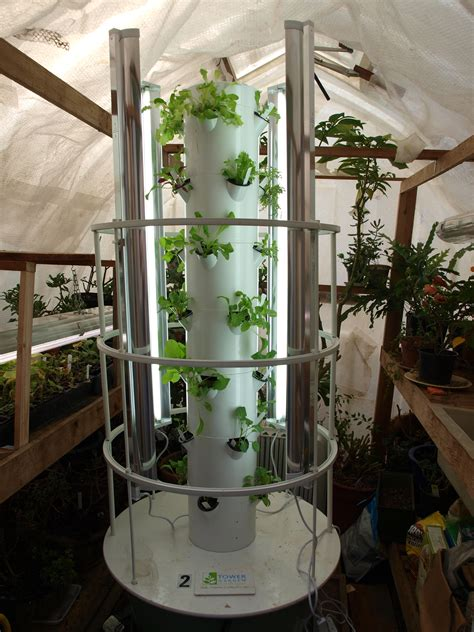 Vertical Garden Tower Tower Garden Winter Food Production Backyard Tower Garden
