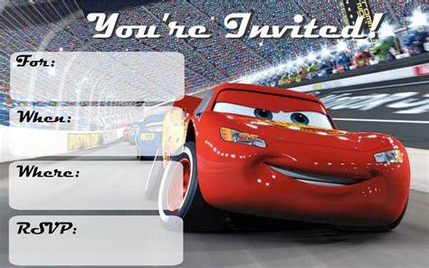 printable birthday invitations cars musings of an average mom cars 3 free printable invitations