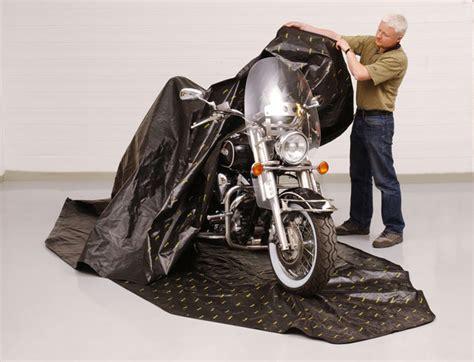 Abdeckhaube Motorrad by Zerust The Rust Inhibitor Motorcycle Cover Autoevolution