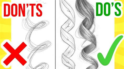 how to hair girl dos and donts of diy hair coloring do s don ts how to draw curly hair step by step