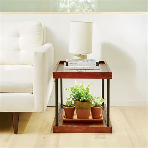 with shelves coltura sunshelf stackable wooden shelves with built in led grow lights the green