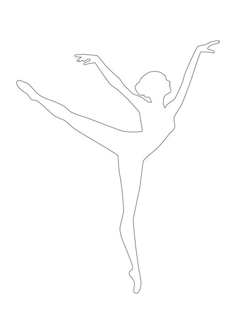 Paper Ballerina Template snowflake cutout search results calendar 2015