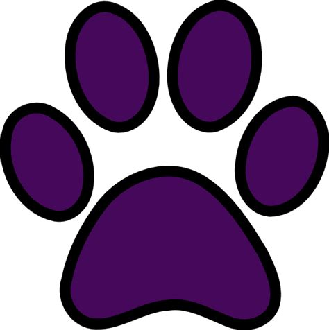 panther paw print clip clipart best clipart best panther paw print clipart best