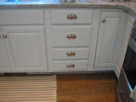 Kitchen Cabinet Cup Pulls by Install Cup Pulls Kitchen Drawer Kitchen Cup Pulls And