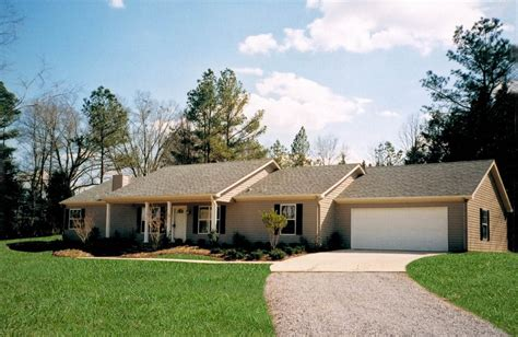 panoramio photo of modular home exterior with attached