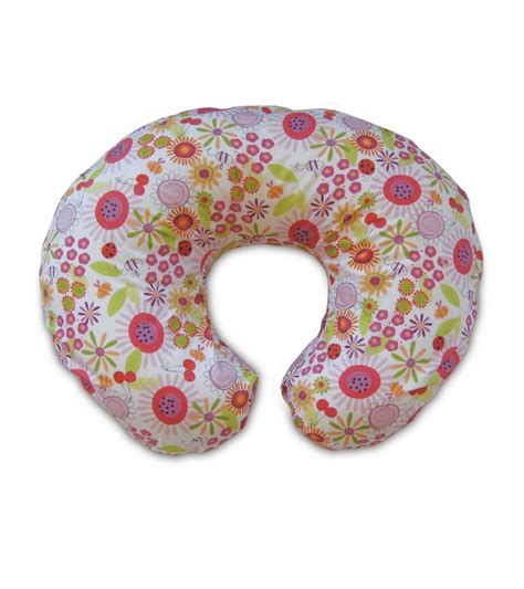 boppy nursing pillow with slipcover day pink