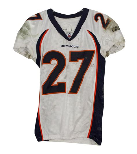 blue knowshon moreno 27 jersey original design of designers p 528 lot detail knowshon moreno used 2010 jersey vs