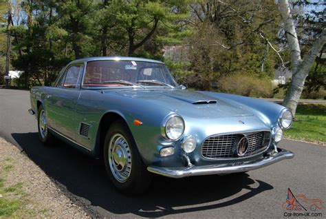 Maserati 3500 Gti by 1962 Maserati 3500 Gti Complete Documentation From New
