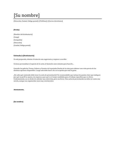 carta de presentacion nuevo empleo free gratis cartas de presentaci 243 n para buscar trabajo o empleo plantillas modelos