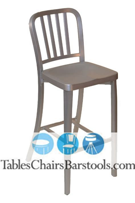 Commercial Bar Stools Clearance by Closeout Commercial Outdoor Brushed Aluminum Vertical