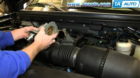 electronic throttle control 2006 ford ranger transmission control how to install replace engine throttle body 2005 06 ford f150 4 6l v8 youtube