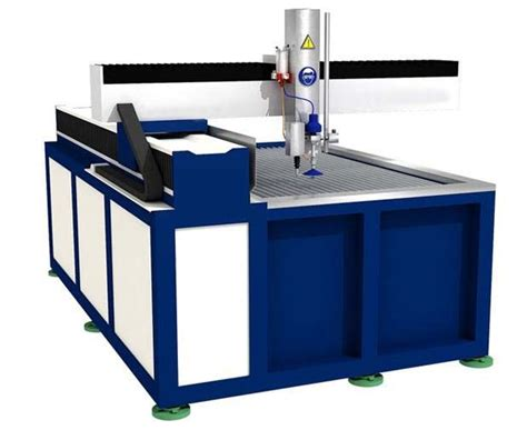 flying arm style cnc waterjet cutting table water jet