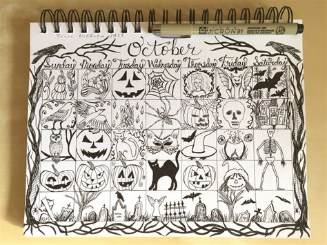 doodle on a picture from my sketchbook october doodles s notebook
