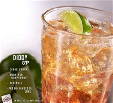 p diddy energy drink this drink quot diddy up quot ciroc vodka is mixed with ruby