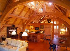 A Frame Home Interiors Koras Small Post And Beam Barn Plans