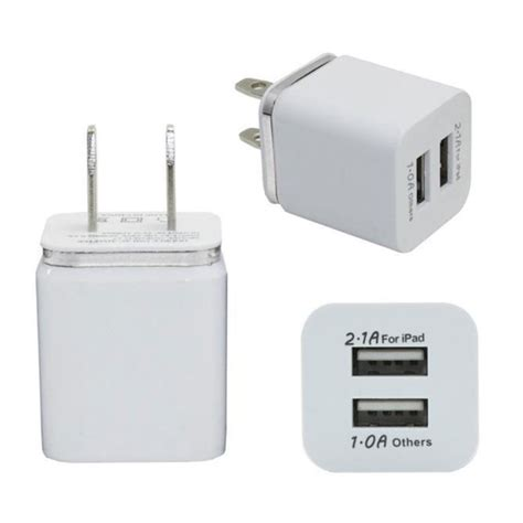 Travel Adapter Universal 2port Usb 1a universal 2 1a usb 2 port wall home travel ac charger adapter us eu ebay