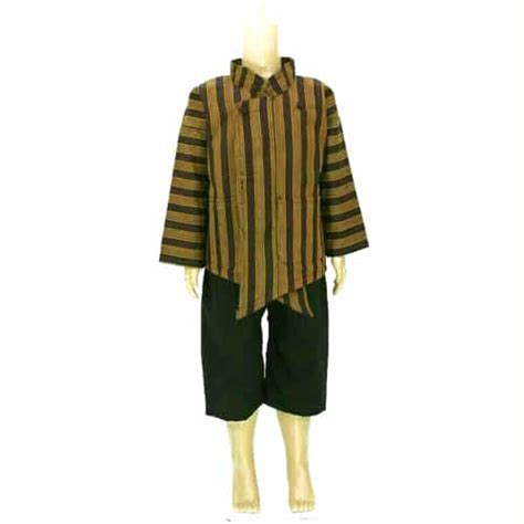 setelan baju surjan anak dan celana pendek pusaka dunia