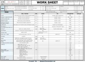 Bill Of Materials Spreadsheet Template by How To Make A Tech Pack For Apparel Sourceeasy